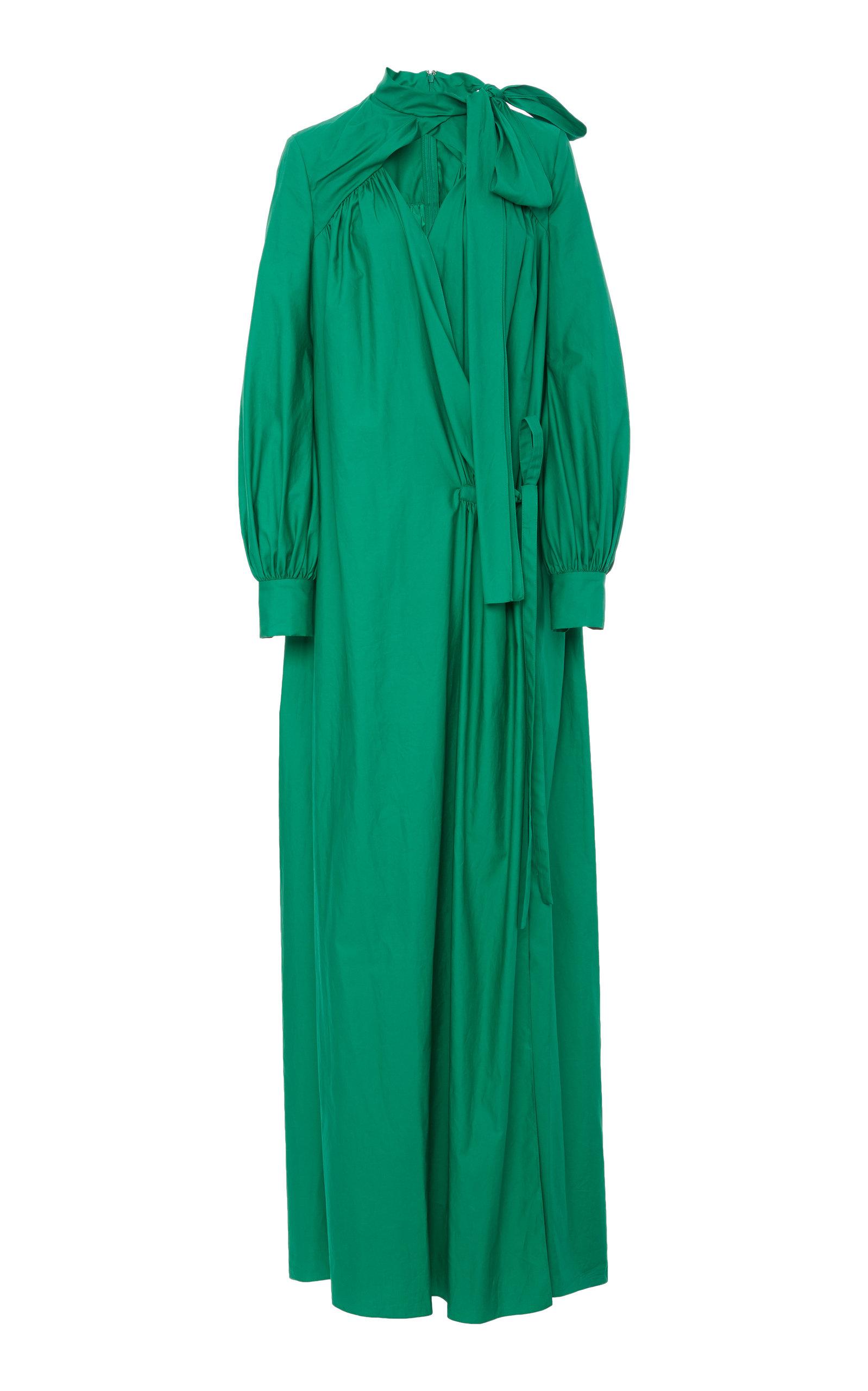 Rosie Assoulin FAKE WRAP DRESS