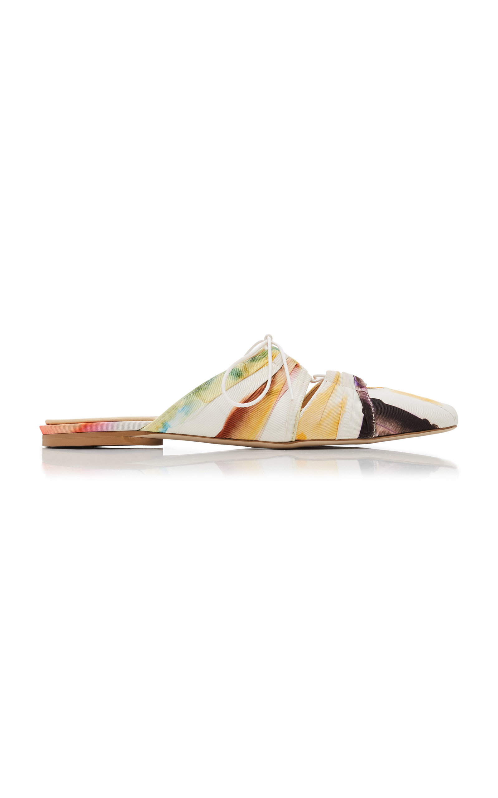 lace up ballet slide by rosie assoulin moda operandi