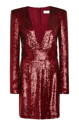 A.L.C. | A.L.C. Mara Sequined Mini Dress | Goxip