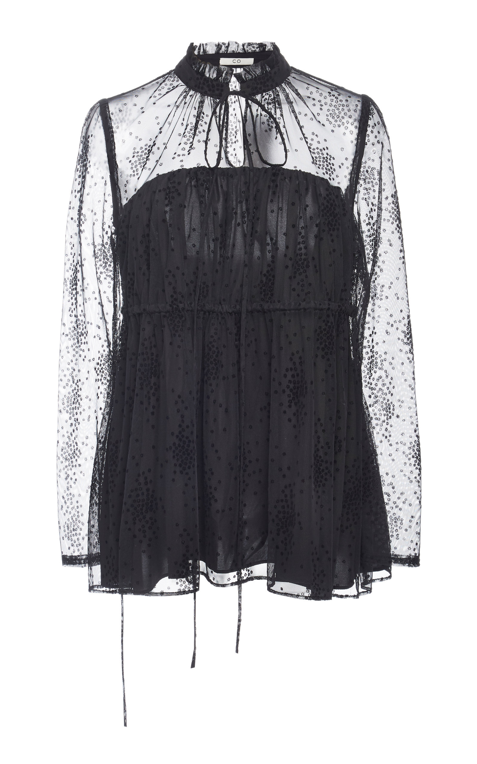 sports shoes 59697 a8417 large co-black-cinch-waist-floral-mesh-blouse.jpg