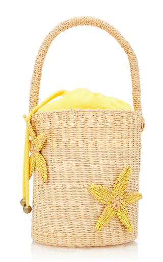 SENSI STUDIO | Sensi Studio Starfish Straw Mini Bucket Bag | Goxip