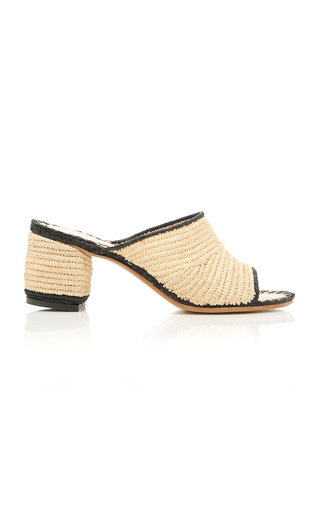 CARRIE FORBES | Carrie Forbes Rama Raffia Slides | Goxip