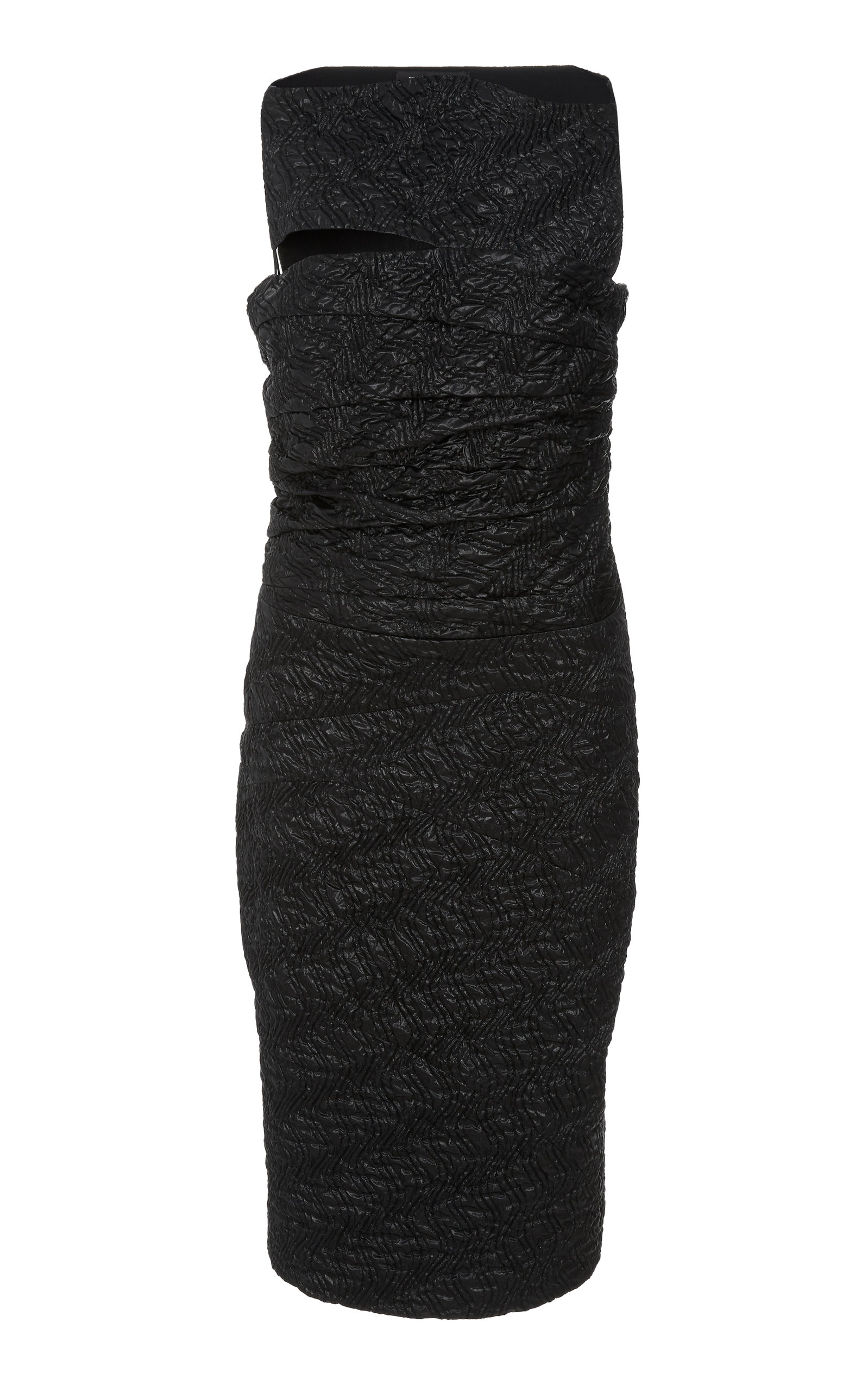 Narciso Rodriguez SILK CLOQUE DRESS