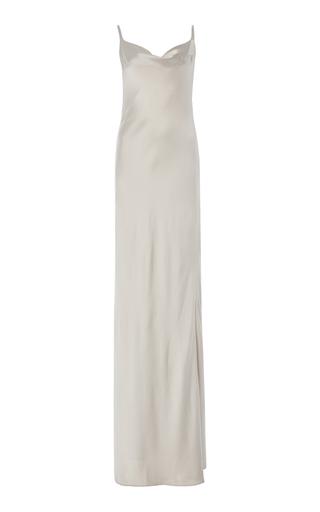 GALVAN | Galvan Whiteley Silk-Satin Gown | Goxip
