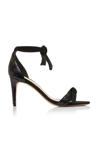 ALEXANDRE BIRMAN | Alexandre Birman Clarita Sequin And Suede Sandals | Goxip
