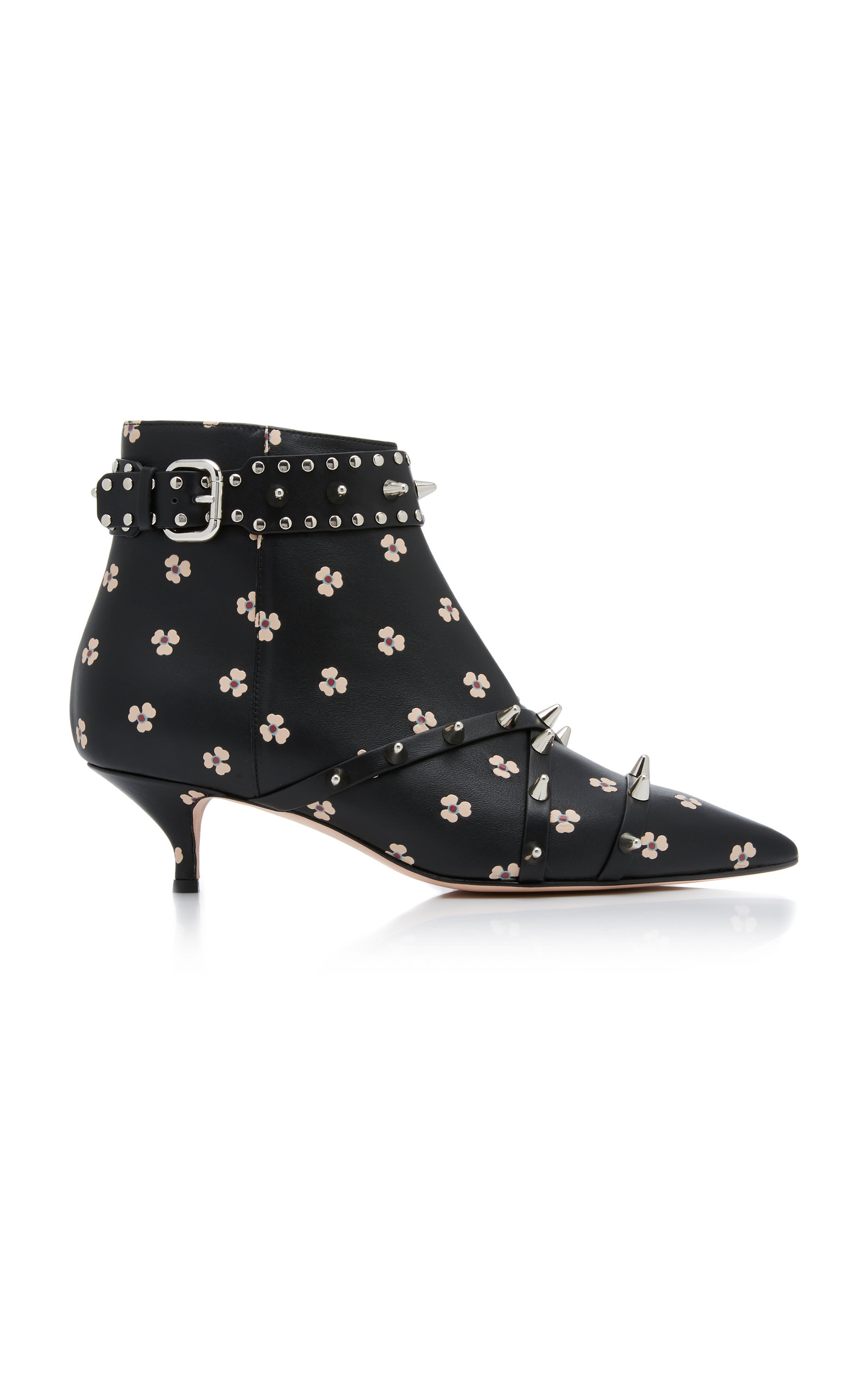 RED VALENTINO STUDDED ANKLE BOOT