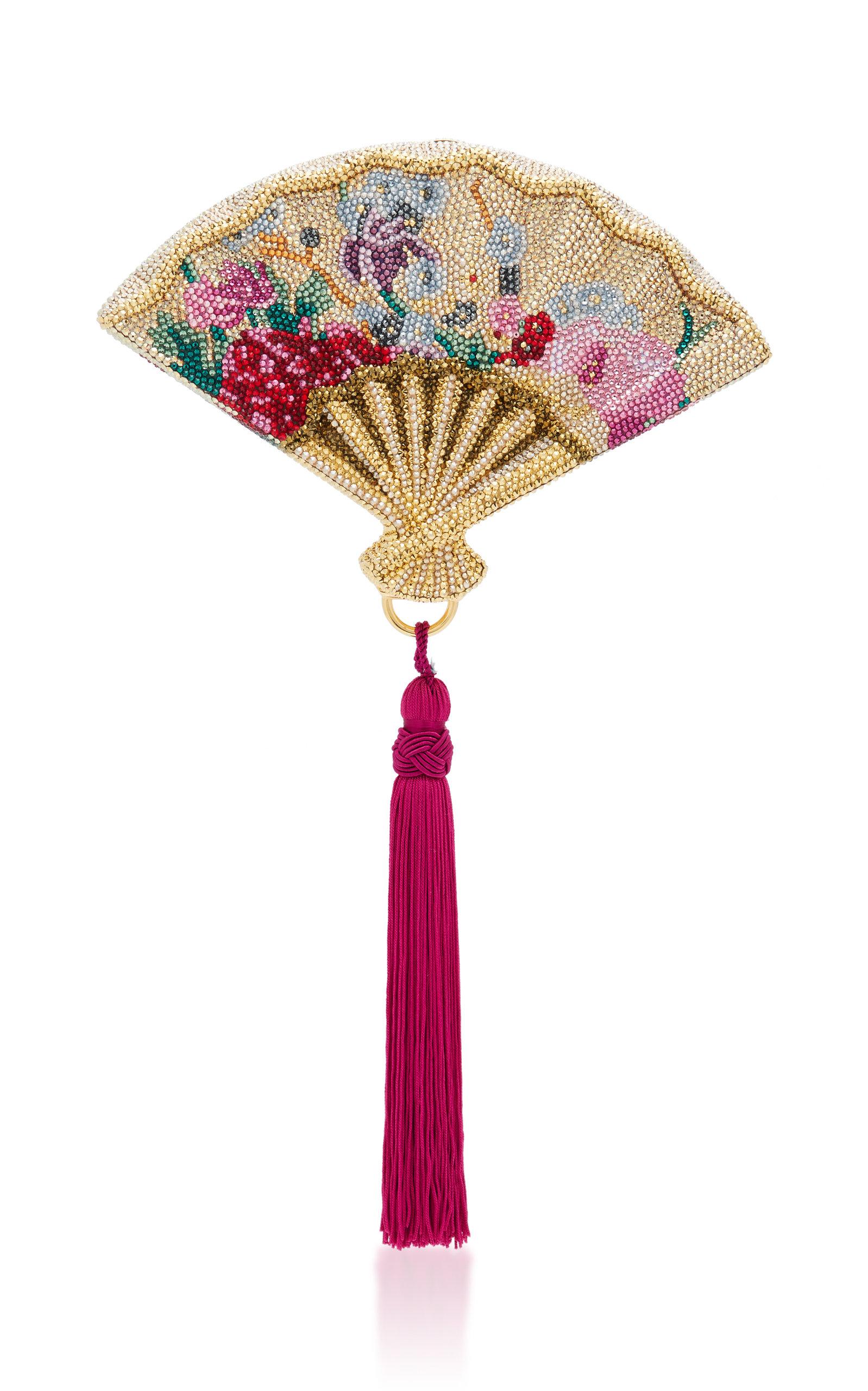 Gion Fan Clutch Judith Leiber 9ELel6gB