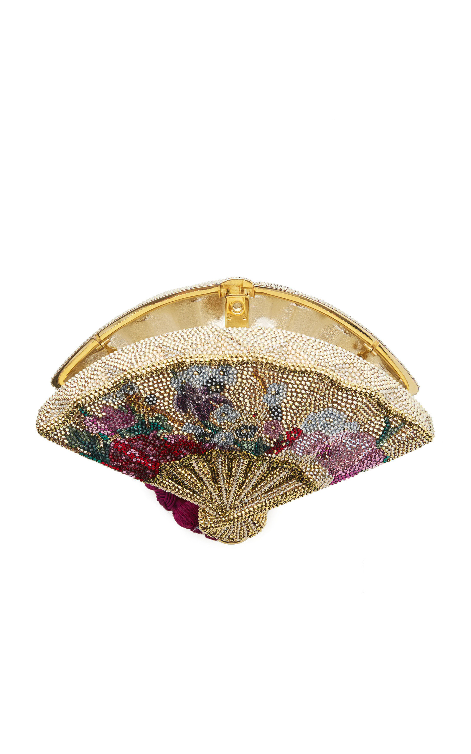 Gion Fan Clutch Judith Leiber