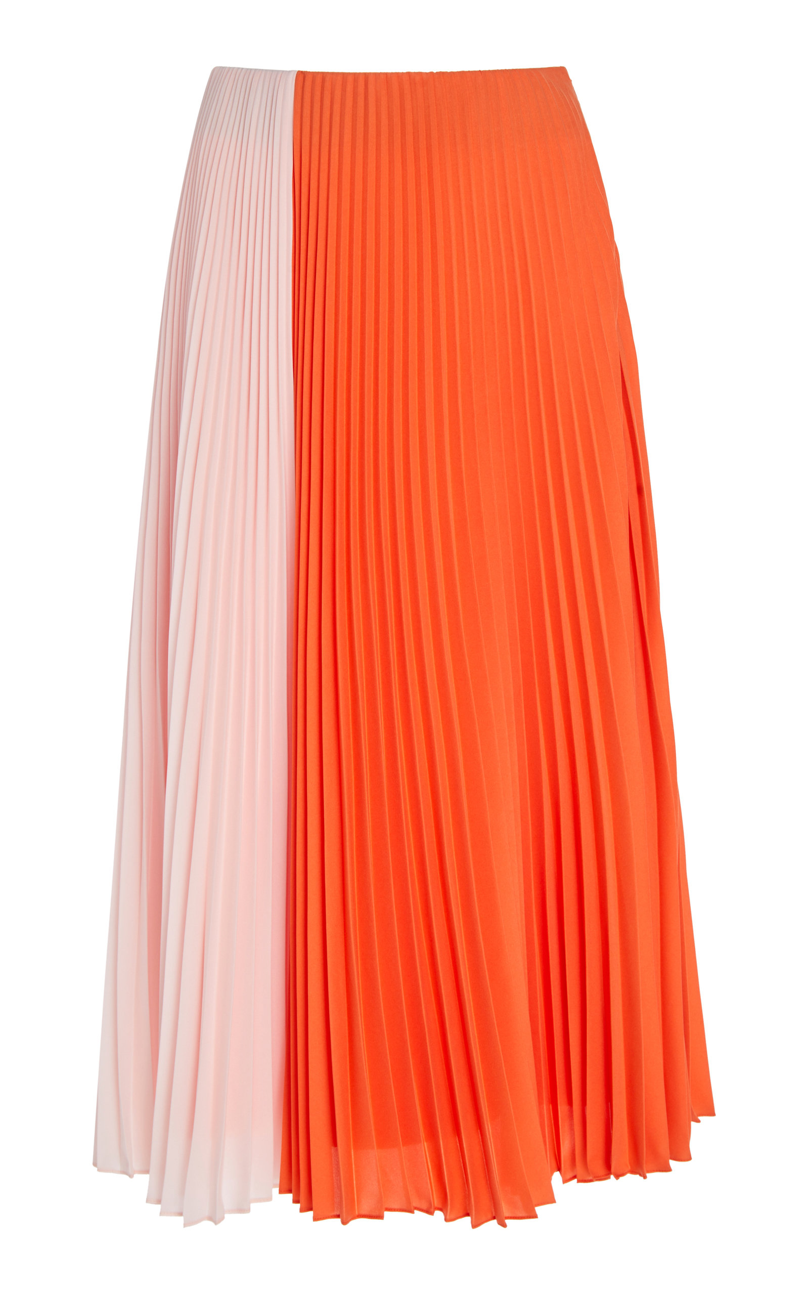 Tome PLEATED TWO TONE SKIRT