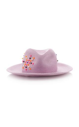 ALBERTUS SWANEPOEL | Albertus Swanepoel Exclusive Magriet Embellished Straw Hat | Goxip