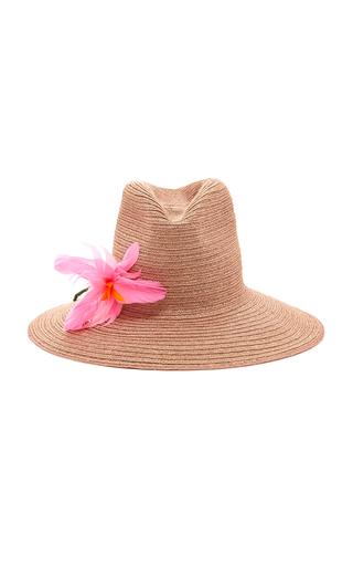 ALBERTUS SWANEPOEL | Albertus Swanepoel Exclusive Glenda Floral-Embellished Hat | Goxip