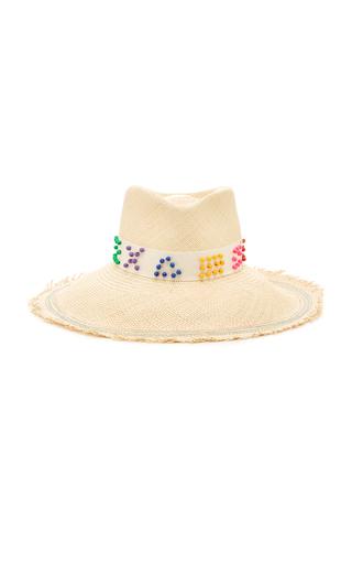 ALBERTUS SWANEPOEL | Albertus Swanepoel Exclusive Kelsey Straw Panama Hat | Goxip