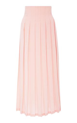 MARA HOFFMAN | Mara Hoffman Cordelia Pleated Tencel Maxi Skirt | Goxip