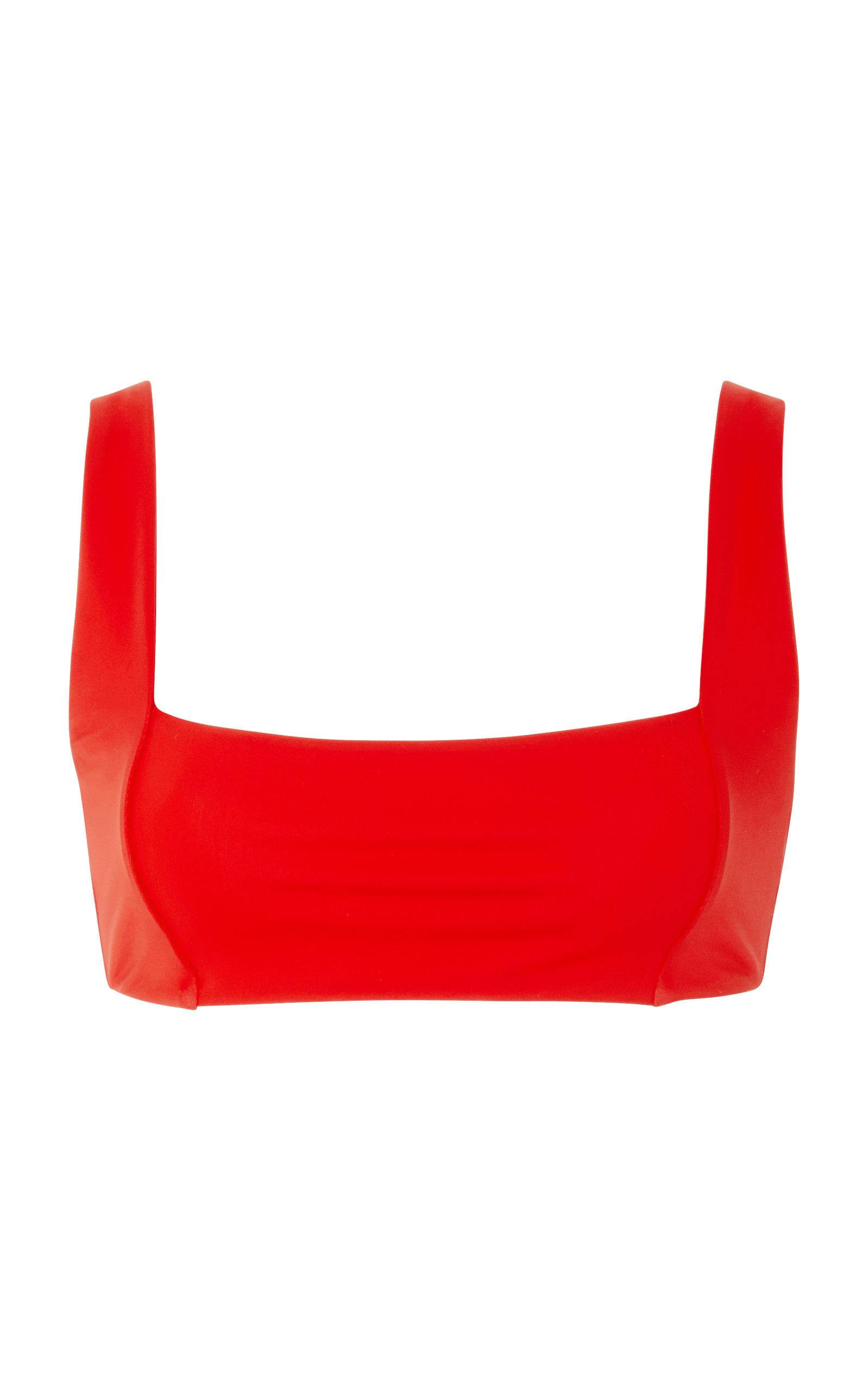 Meli Bikini Top in Red