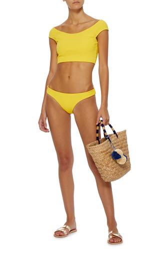 ac90d6bc09 Naomi Ribbed Bikini Top by Mara Hoffman