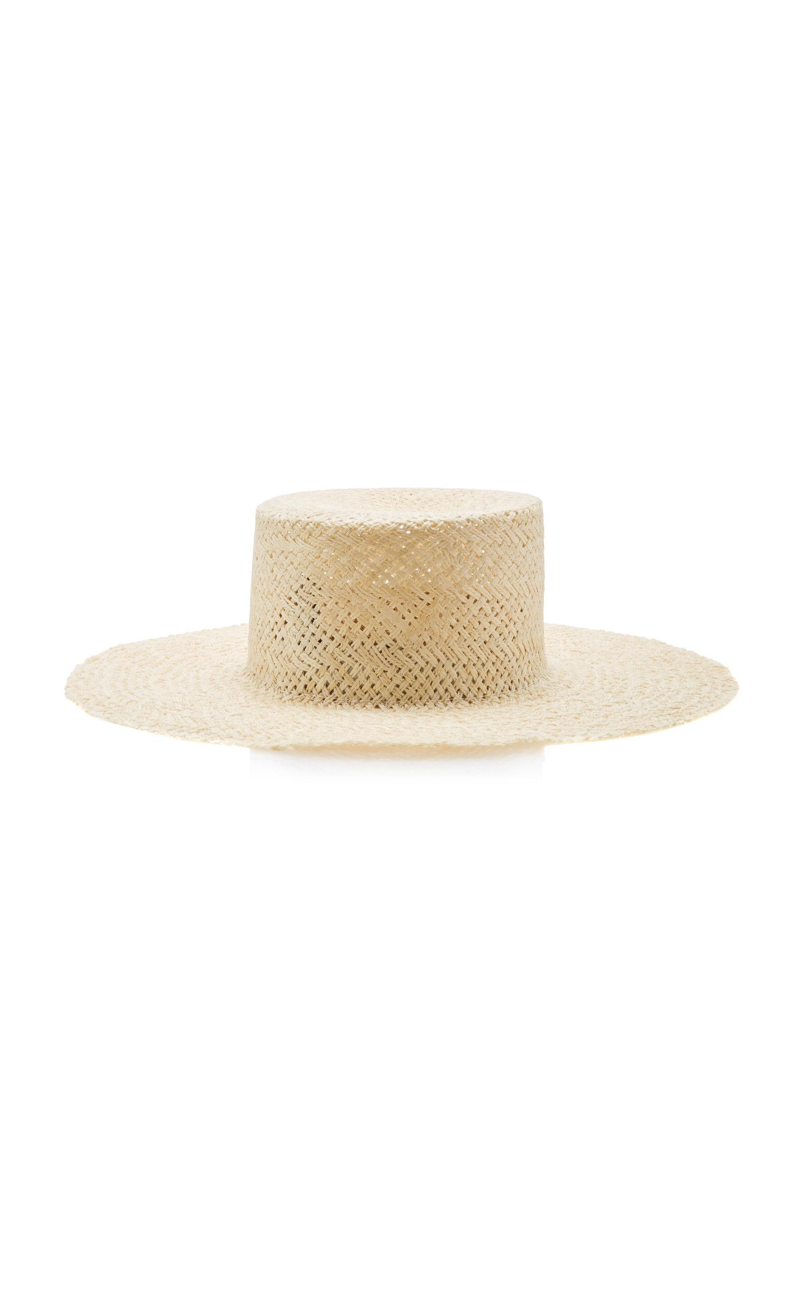 56be3bb76cc501 Beatrice Straw Hat by Janessa Leone | Moda Operandi