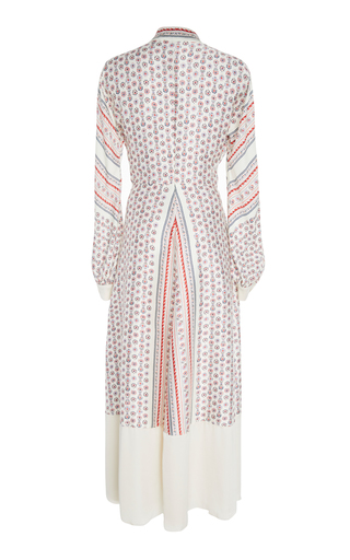 0058ebae9ad Philosophy di Lorenzo SerafiniPrinted Twill Wrap Maxi Dress