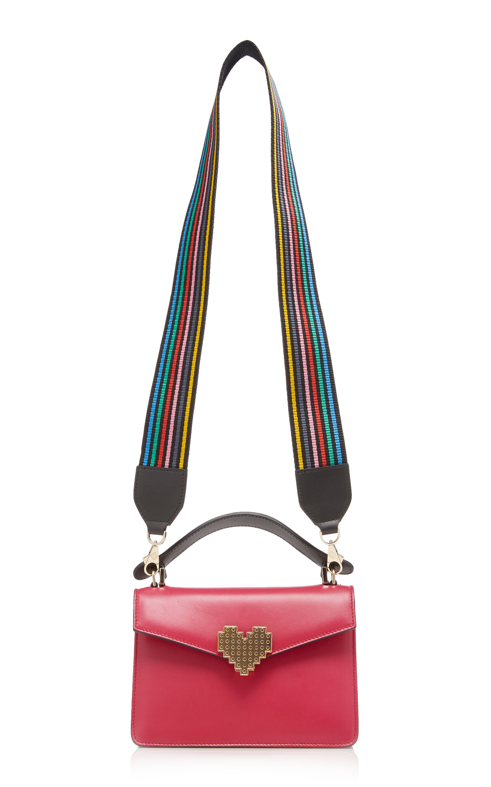 Rainbow Mini Pixie Bag with Metal Piping Les Petits Joueurs ayOfhqX