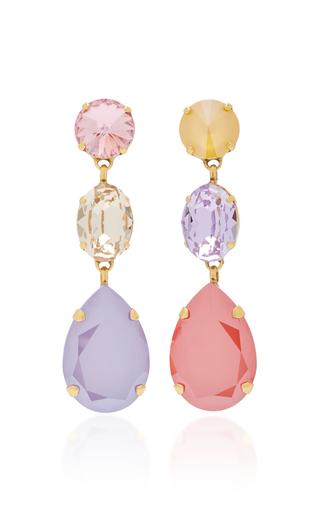 63ee943f2 Classic Three Drop Earrings by Rebecca de Ravenel | Moda Operandi