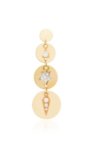 MONTSE ESTEVE   Montse Esteve 18K Gold Diamond Earring   Goxip