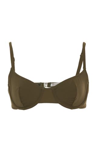 SOLID & STRIPED | Solid & Striped Eva Underwire Bikini Top | Goxip