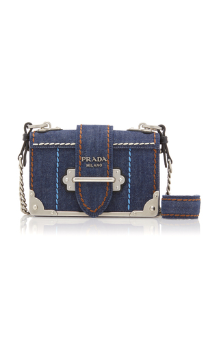 a7dc79bf50b6 Prada Cahier Denim Bag | Stanford Center for Opportunity Policy in ...
