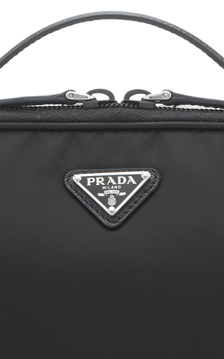 f13a65db7533 Leather-Trimmed Shell Cosmetics Case by Prada