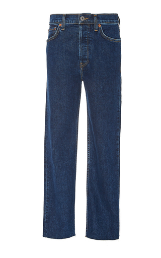 RE/DONE | Re/done High-Rise Stovepipe Jeans | Goxip