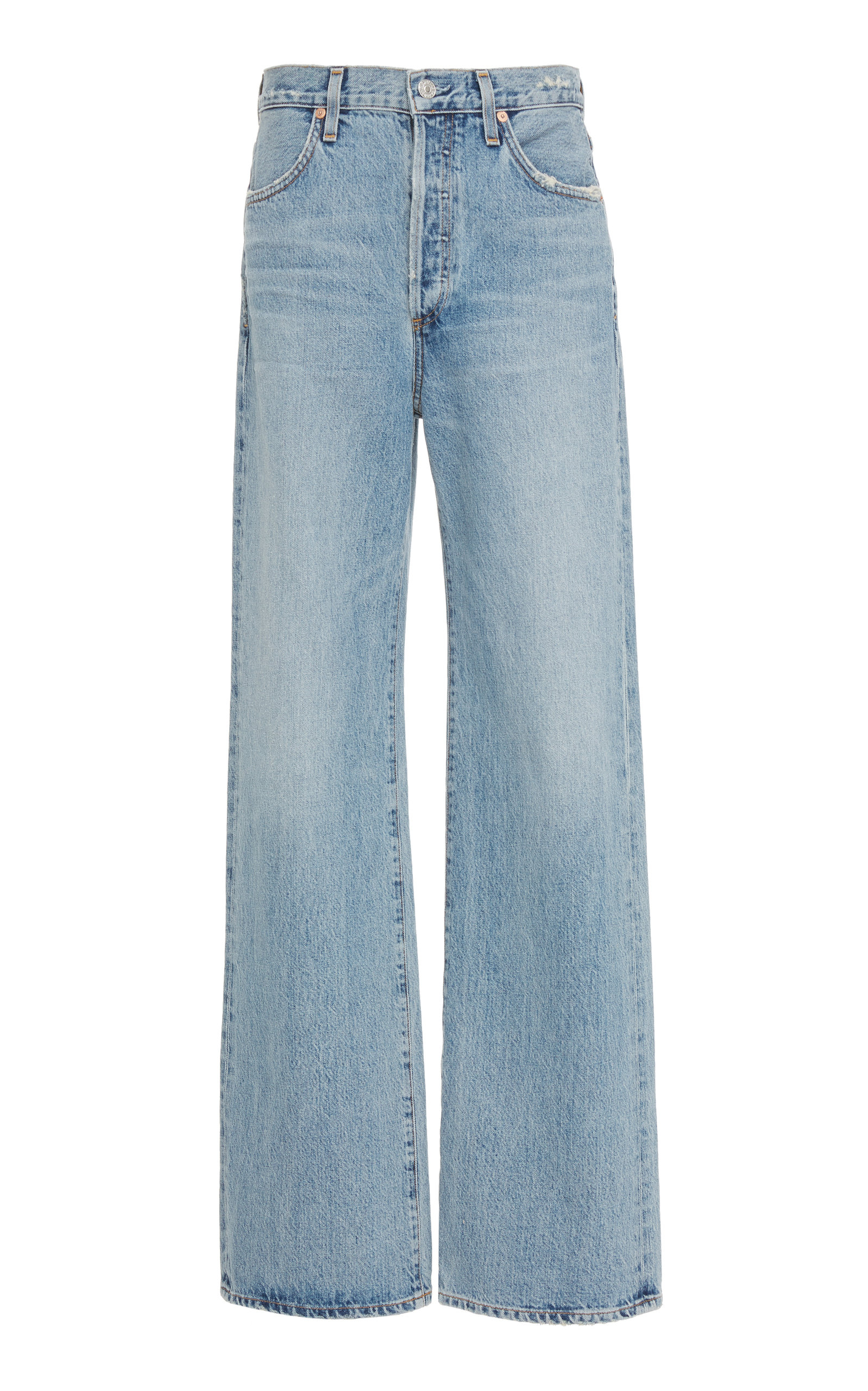 CITIZENS OF HUMANITY | Citizens Of Humanity Annina High-Rise Wide-Leg Jeans | Goxip