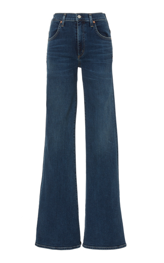 CITIZENS OF HUMANITY | Citizens of Humanity Chloe Mid-Rise Flared Jeans | Goxip