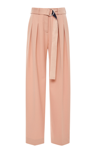 VICTORIA VICTORIA BECKHAM | Victoria Victoria Beckham Front Pleat Belted Pant | Goxip