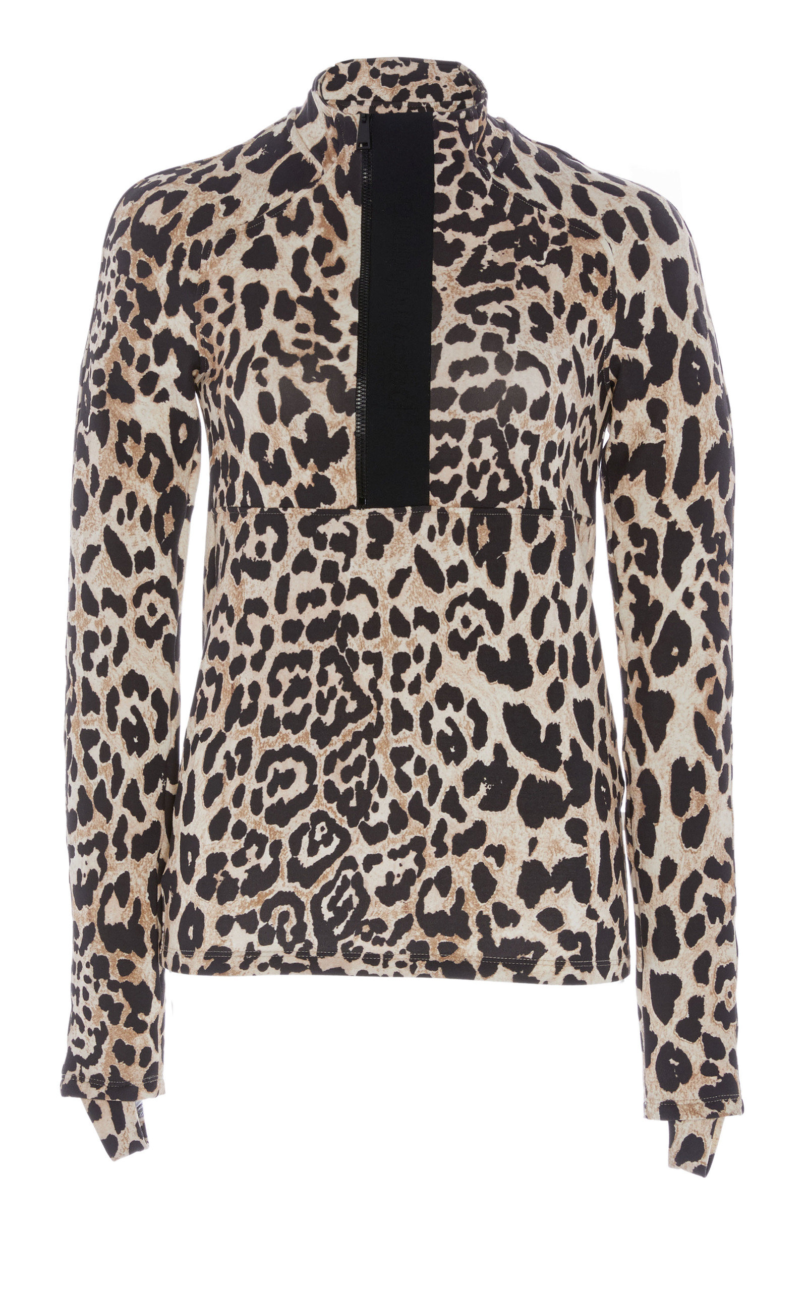 053fbcd5 Band Collar Leopard Blouse by Paco Rabanne | Moda Operandi