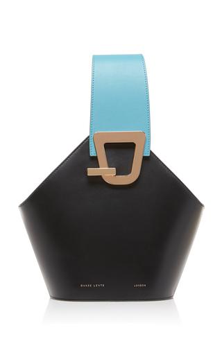 DANSE LENTE   Danse Lente Exclusive Johnny Mini Two-Tone Leather Bucket Bag   Goxip