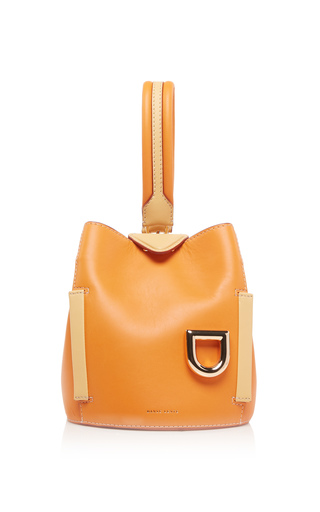 DANSE LENTE | Danse Lente Exclusive Two-Tone Leather Josh Bucket Bag | Goxip