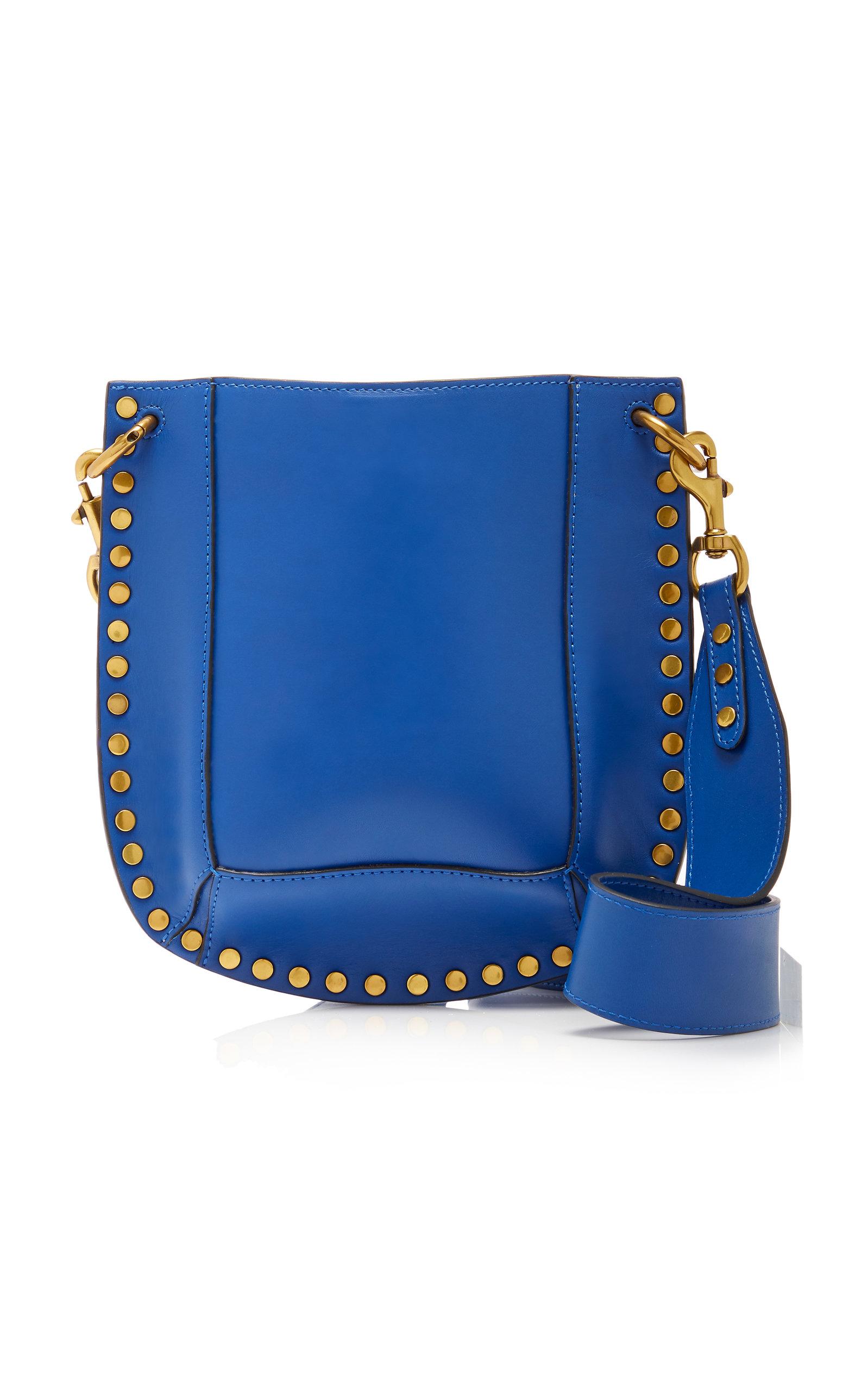 ISABEL MARANT | Isabel Marant Nasko Studded Leather Shoulder Bag | Goxip