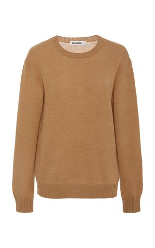 JIL SANDER | Jil Sander Wool Crewneck Sweater | Goxip