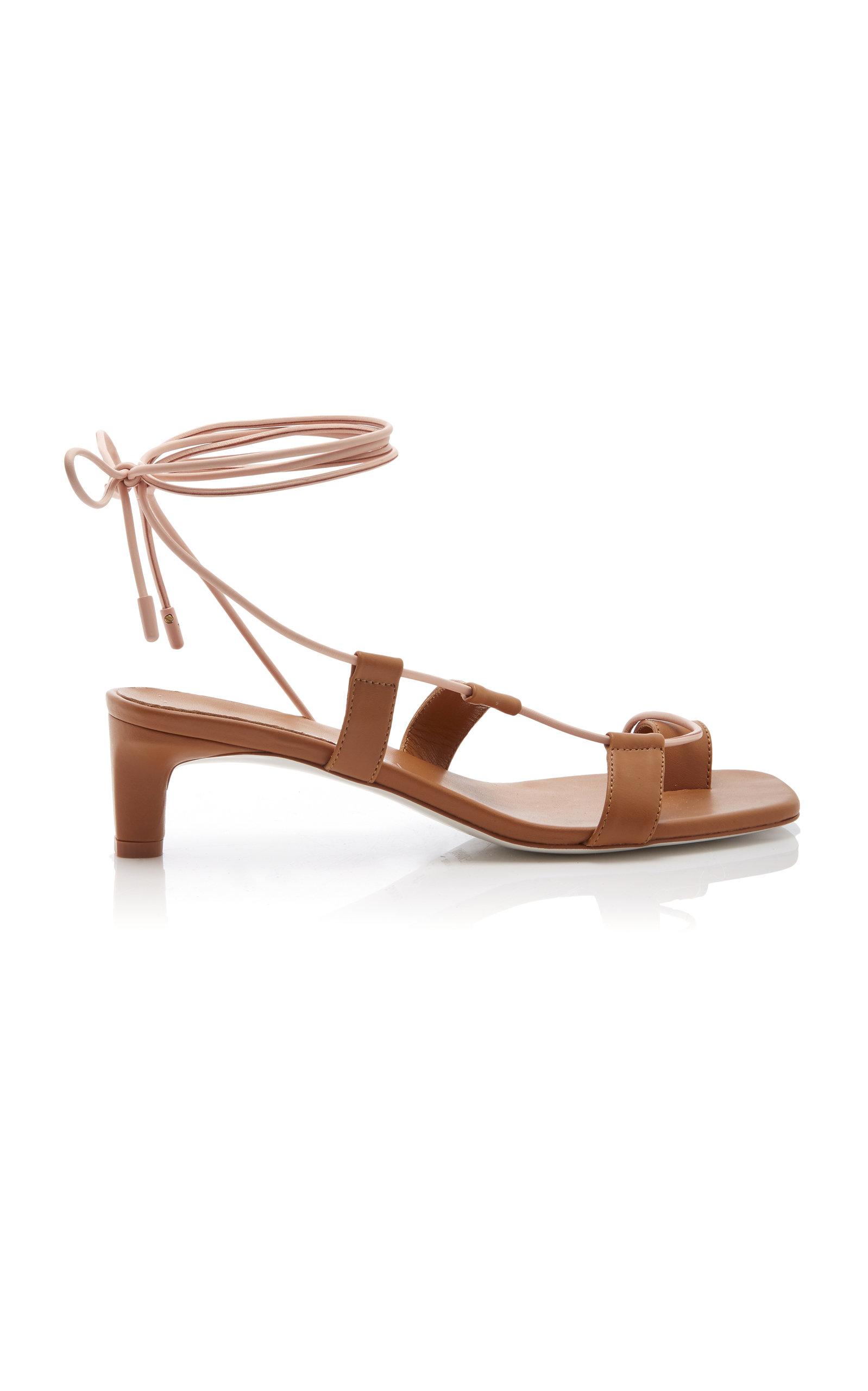 dc1eaecc895 Zimmermann Kitten Sandal In Brown