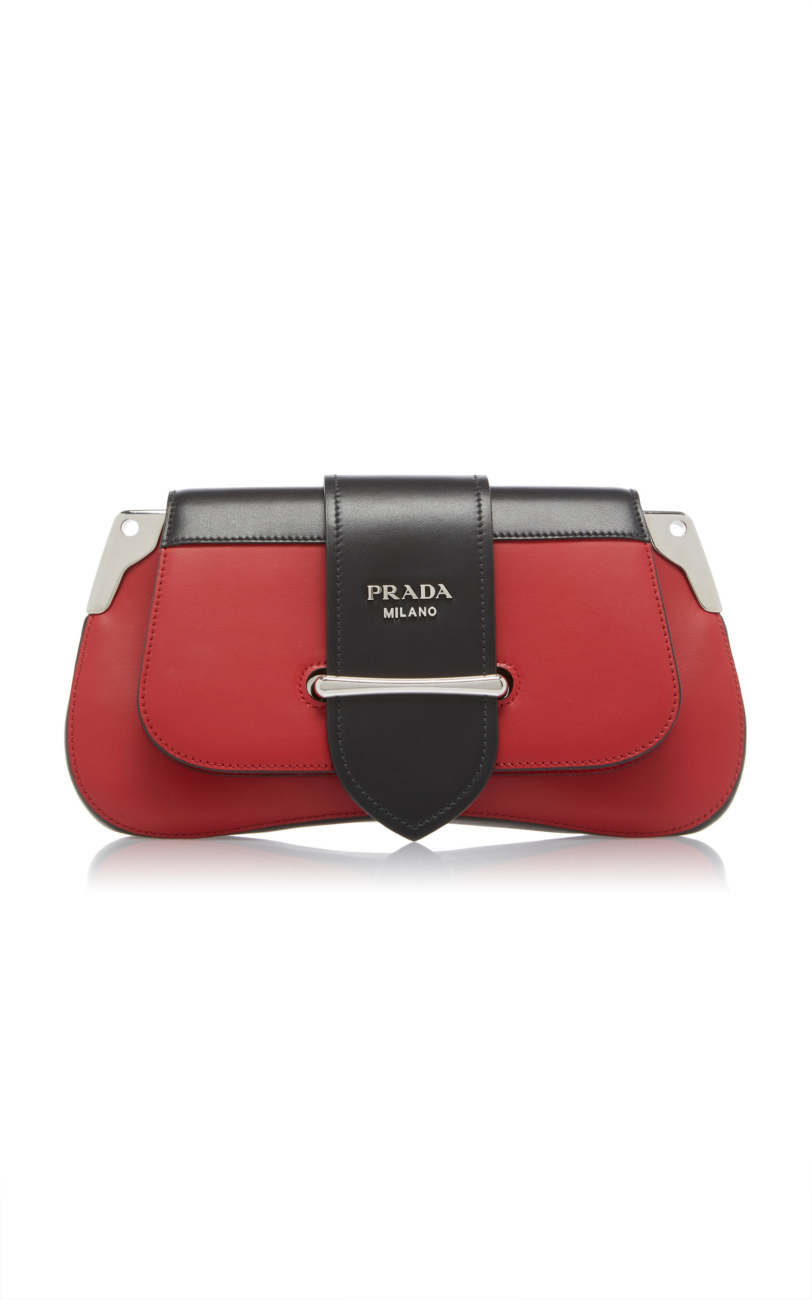 Textured Top Handle Bag in Spazzolato Prada vxg47X
