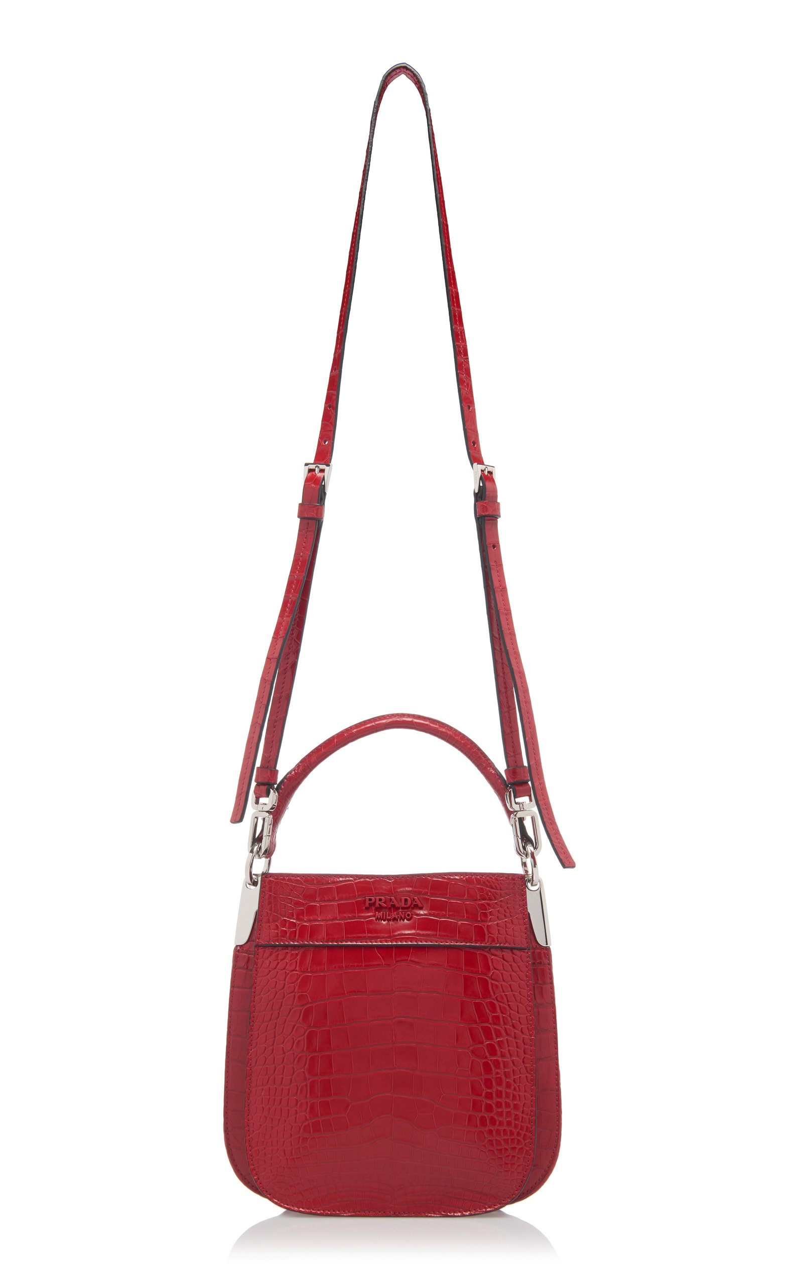 Crocodile Bucket Bag Prada kCbwFym