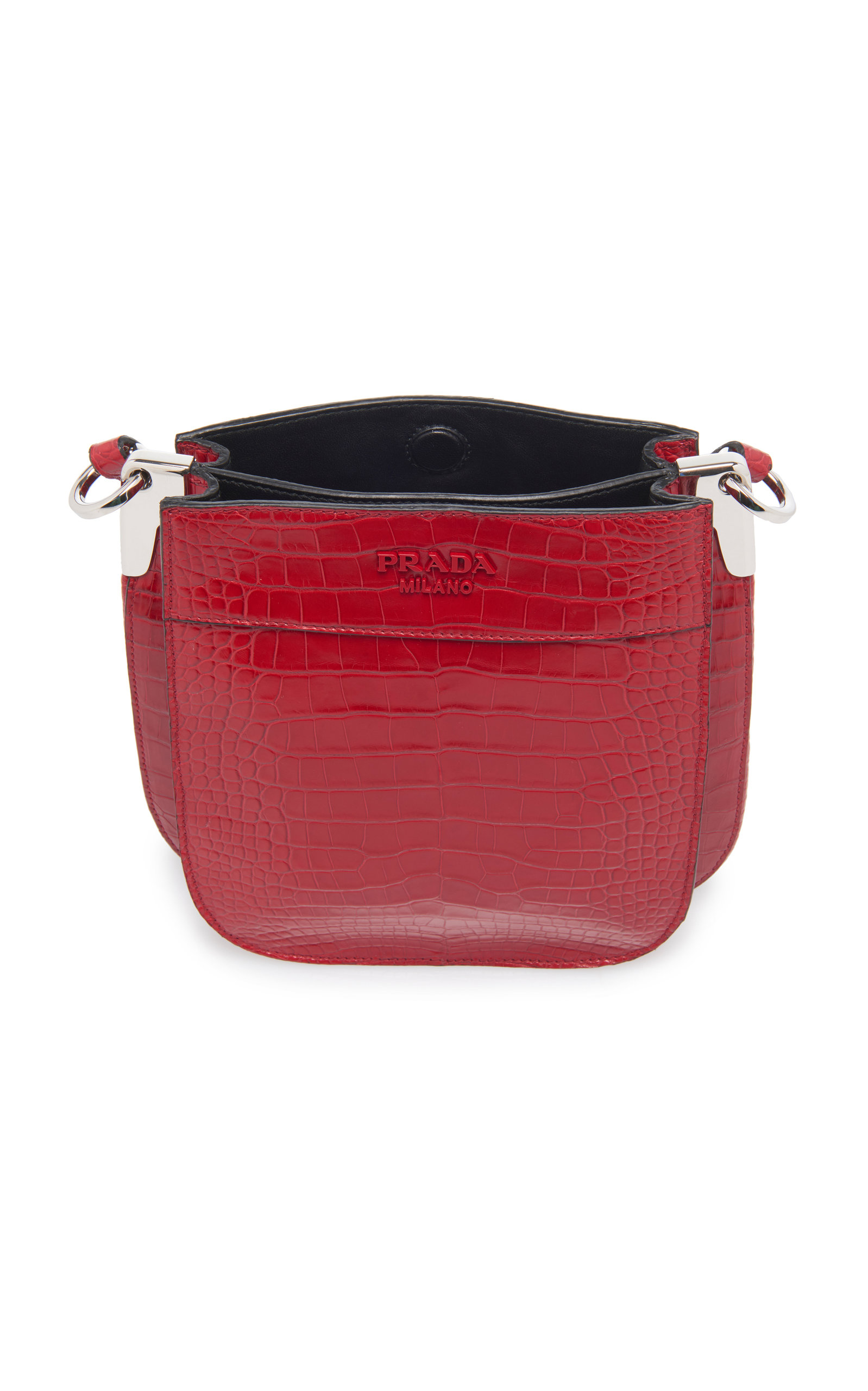 fc2122898442e8 Pradacrocodile Bucket Bag Close Loading. Crocodile Bucket Bag By Prada Moda  Operandi