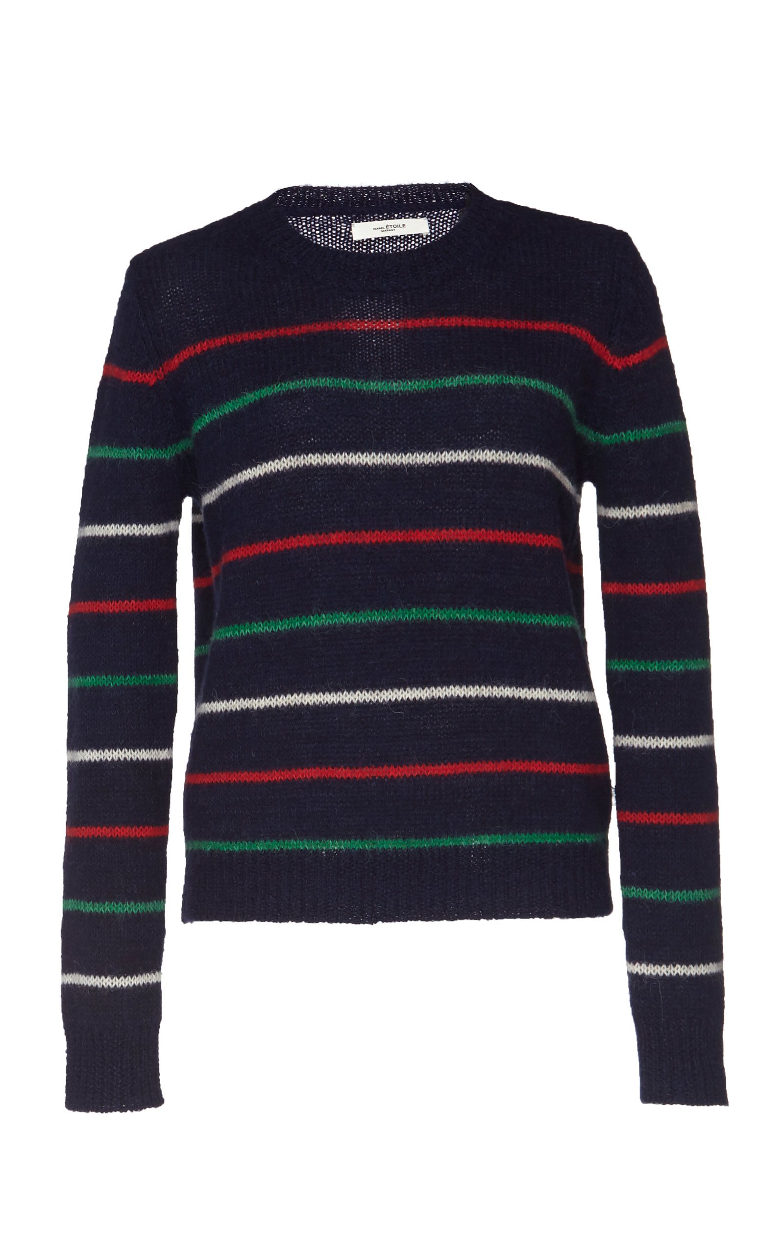 9bae0ded31 Gian Striped Alpaca-Blend Sweater by Isabel Marant Étoile | Moda ...