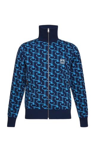 19ac8909566 PradaJacquard Zip-Up Jacket