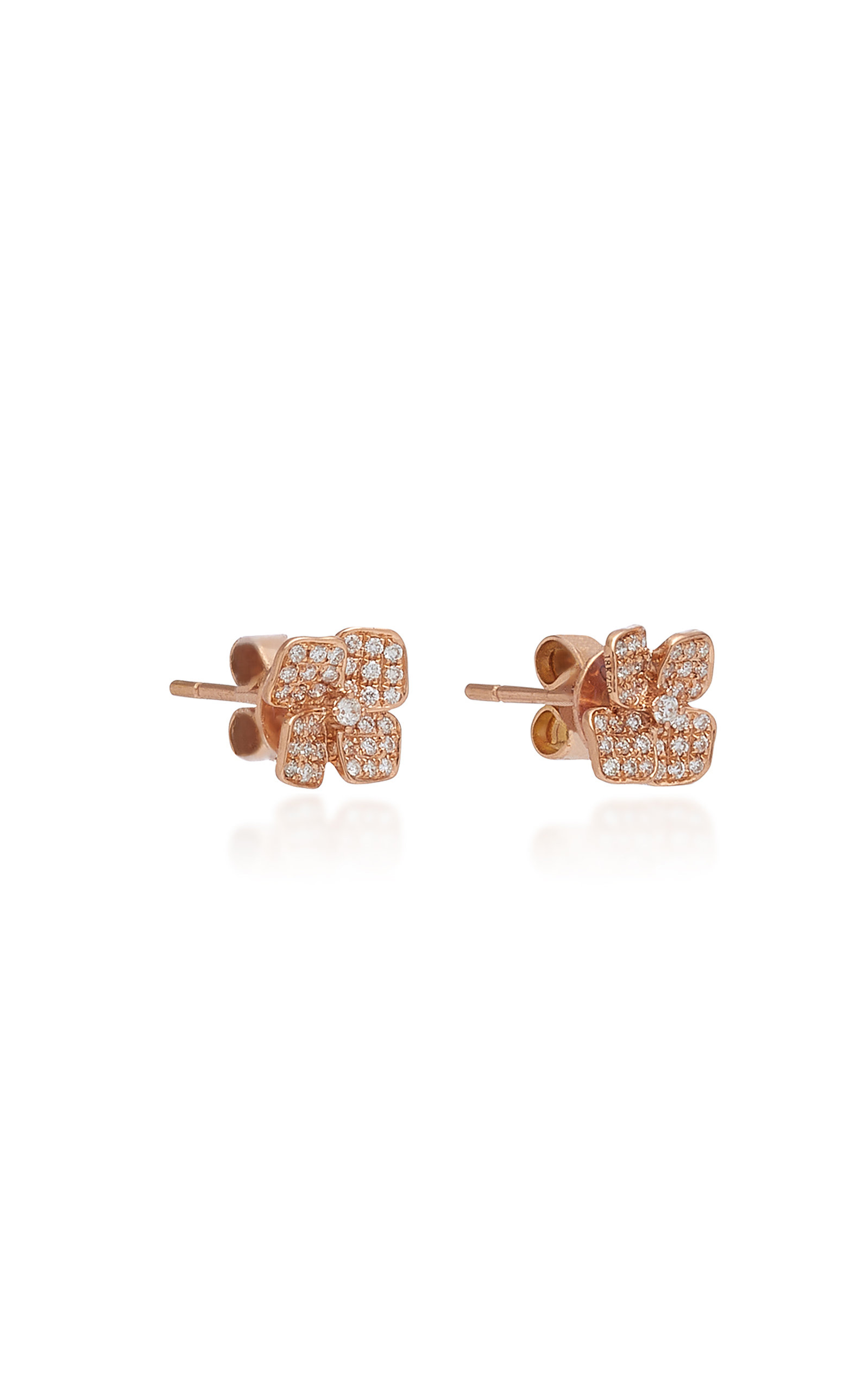 0689622d0 Anita KoFloral 18K Gold And Diamond Stud Earrings. CLOSE. Loading. Loading