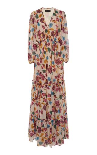2cdfcf2cf011 In Search Of Time Tiered Jacquard Dress by Johanna Ortiz   Moda Operandi