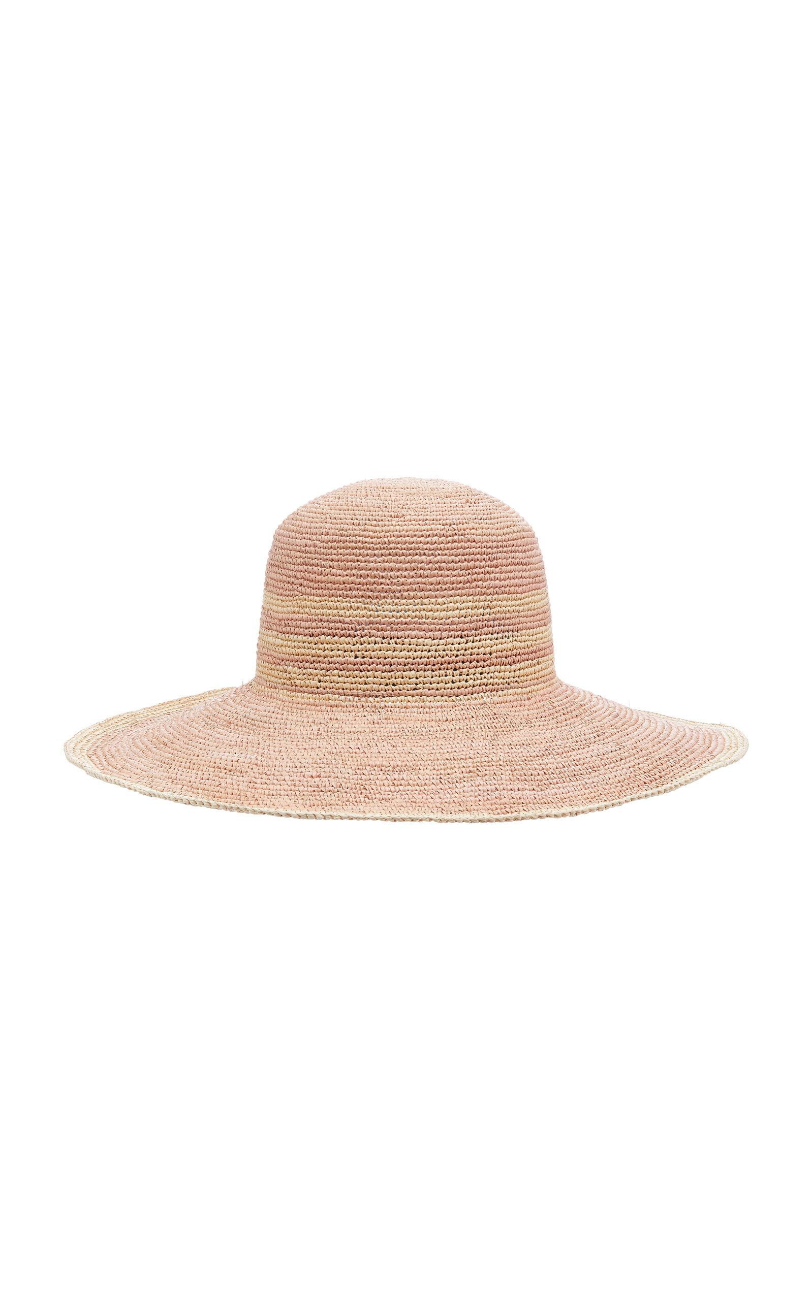 YESTADT MILLINERY Ramona Straw Hat in Multi