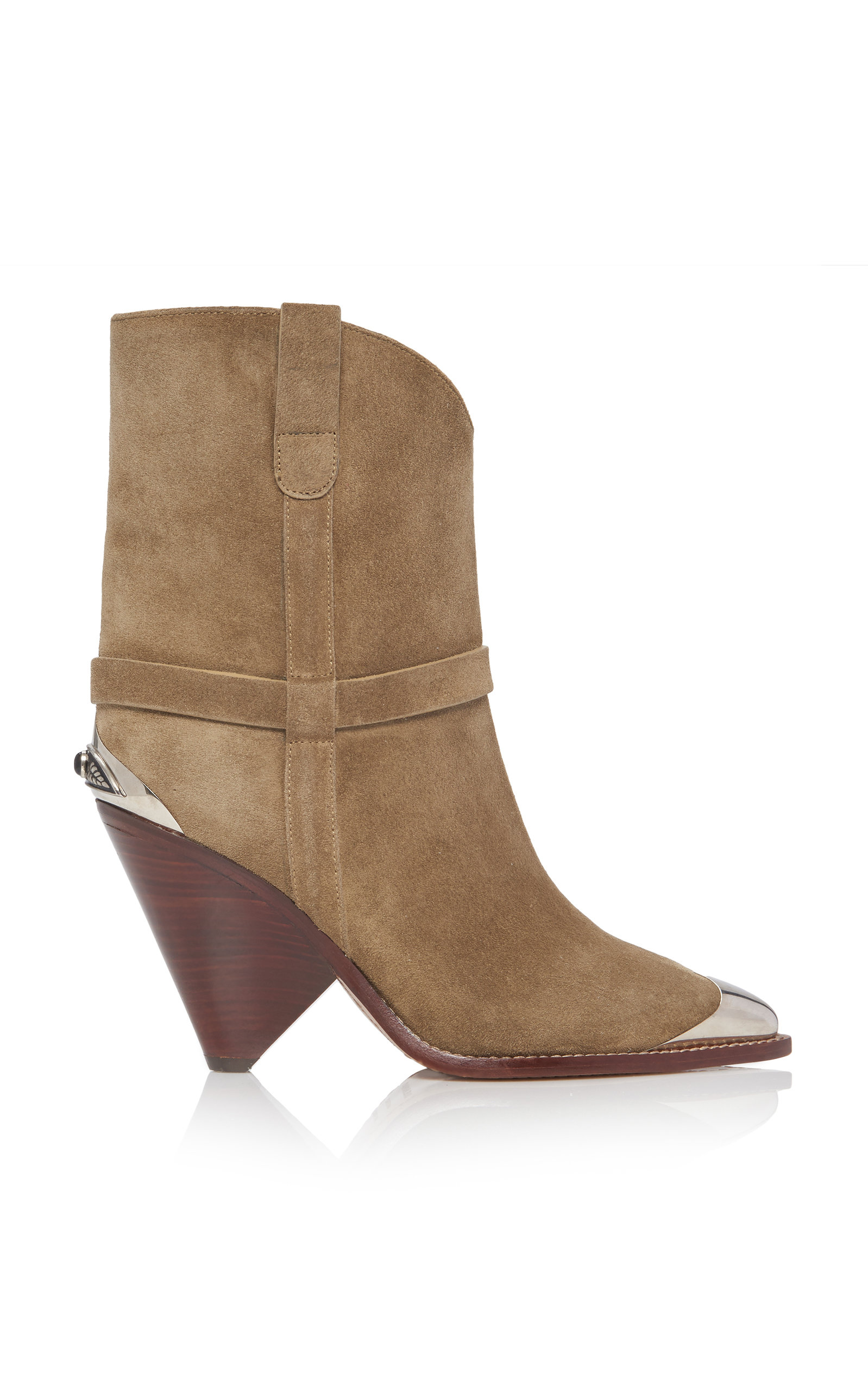 Isabel Marant Boots Lamsy Calf Suede Boots