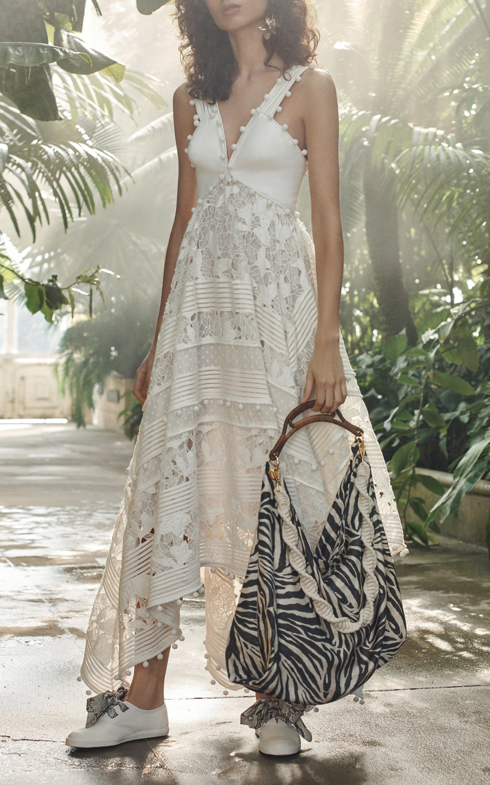 2abfaee5796b ZimmermannCorsage Embellished Silk-Blend Midi Dress. CLOSE. Loading. Loading.  Loading. Loading