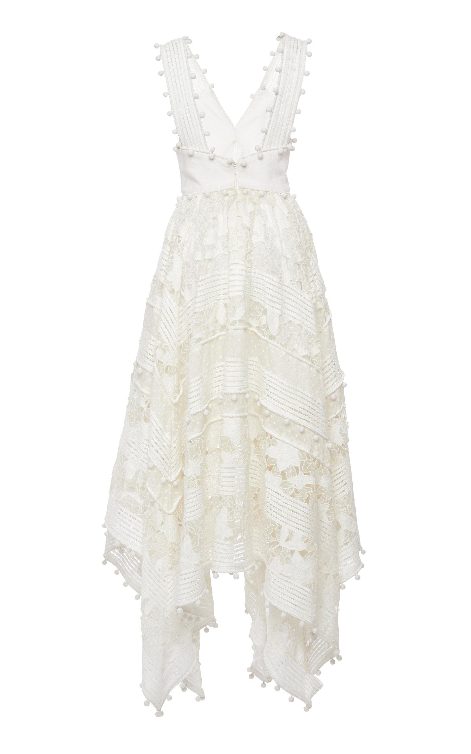 9f342997f5db ZimmermannCorsage Embellished Silk-Blend Midi Dress. CLOSE. Loading. Loading