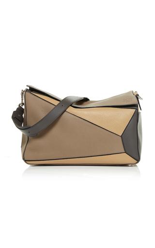 LOEWE | Loewe Puzzle Leather Messenger Bag | Goxip