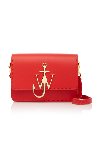 JW ANDERSON | JW Anderson Logo Mini Leather Shoulder Bag | Goxip